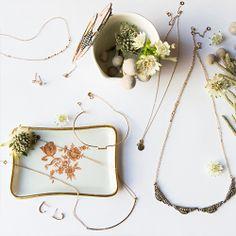 flowers + jewelry