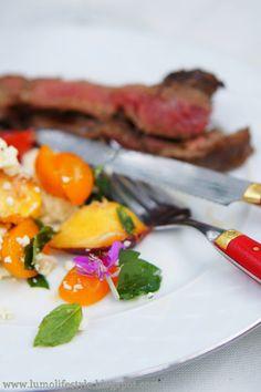 #flanksteak #beef & #salad