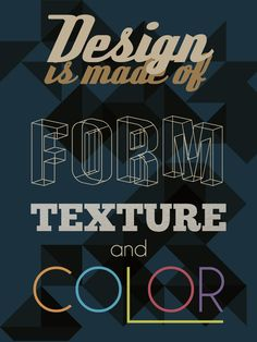 what design is made of