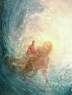 This is beautiful, yet terrifying to me, because of having almost drowned that day. I don't know how I got out of the water, so I know it was the hand of GOD. Yet, that same hand could have taken me HOME with HIM. HE chose to save me; now I have to find my purpose/mission in this life. A life for which GOD pulled me out of the depths of water and darkness. All my suffering, I give up to you for the debt you paid for our sins. Dear LORD... May you lead me to knowing your will for me, your…