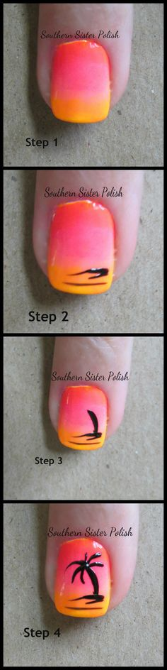 http://southernsisterpolish.blogspot.com/2013/06/palm-tree-tutorial.html