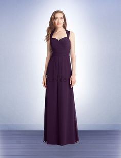 Bridesmaid Dress Style 1122 - Bridesmaid Dresses by Bill Levkoff I like the look of this dress for my bridesmaids, possibly in this Plum color and in Sangria color.