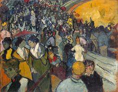 Arena at Arles ,Vincent Van Gogh