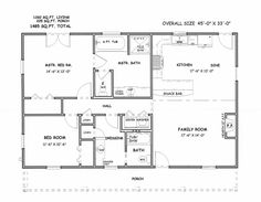 images about Residential Architecture on Pinterest   Floor    Simple Square House Floor Plans   houses  floor plans  custom  quality home construction