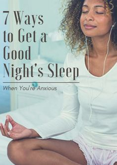 7 Ways to Get a Good Night's Sleep When You're Anxious http://www.active.com/cycling/articles/7-ways-to-get-a-good-night-s-sleep-when-you-re-anxious