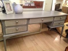 Stag Sideboard / Desk/ Dressing Table Painted In Chalk Paint By Annie Sloan | eBay