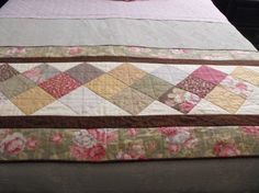Quilted Bed Runner For Double, Queen Or King Size Beds