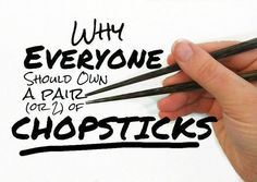 Picture of 101+ Life Hacks Using Chopsticks