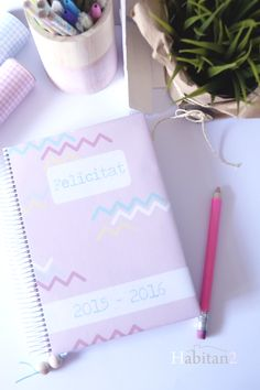 nueva agenda escolar personalizada ya a la venta, y viene con regalo!!, toda la info en el blog http://habitandos.blogspot.com.es