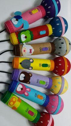 Paper crafts for kids simple Felt Crafts, Diy And Crafts, Arts And Crafts, Paper Crafts, Toy Trumpet, Diy For Kids, Crafts For Kids, Music Crafts, Felt Toys
