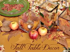 Fall Table Setting ideas sure to inspire!