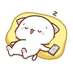 The perfect PeachCat Sleeping Zzz Animated GIF for your conversation. Discover and Share the best GIFs on Tenor. Cute Love Pictures, Cute Love Gif, Cute Cat Gif, Cute Cartoon Pictures, Cute Love Cartoons, Sleeping Gif, Chibi Cat, Gifs, Cute Kawaii Drawings