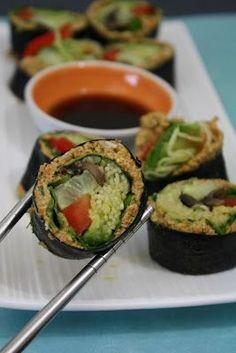"Raw Vegan Salmon Pate Food and Yoga for Life: Raw Vegan ""Salmon"" Nori Rolls Raw Vegan Recipes, Vegan Vegetarian, Vegetarian Recipes, Healthy Recipes, Vegan Foods, Healthy Desserts, Healthy Food, Paleo, Healthy Eating"