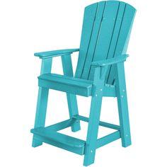 Wildridge Recycled Plastic Heritage Adirondack Balcony Chair