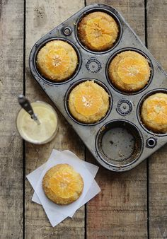 Clementine Upside Down Cakes:  http://www.versesfrommykitchen.com/2012/01/clementine-upside-down-cakes.html