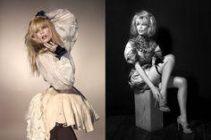 Claudia Schiffer by Kayt Jones . www.fashion.net