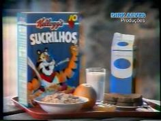 SUCRILHOS - Propaganda - YouTube Frosted Flakes, Cereal, Tv, Breakfast, Youtube, Food, Morning Coffee, Television Set, Essen