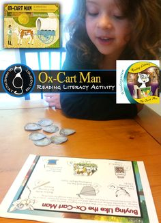 """There is no better way to introduce simple economics to Kindergarten than by using the wonderful story, """"Ox-Cart Man"""" by Donald Hall. ..."""