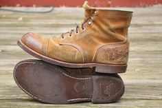 Fade of the Day - Red Wing Iron Ranger in Hawthorne (5 years)