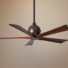 Walnut - Bronze Ceiling Fan