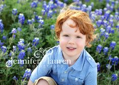 Our favorite part about spring photos is the usage of vibrate flowers.