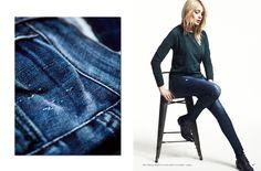 Modèle Megan et Sweat Shirt Gwendoline