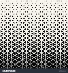 Halftone triangle abstract pattern stock vector (royalty free) 519447370 - Abstract geometric black and white graphic design print halftone triangle pattern - Graphic Design Print, Graphic Patterns, 1 Tattoo, Body Art Tattoos, Geometric Background, Geometric Art, Vector Pattern, Pattern Design, Muster Tattoos