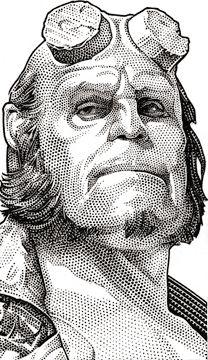 Wall Street Journal Hedcuts by Randy Glass, via Behance
