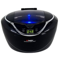 GemOro Sparkle Spa Pro Large Personal Ultrasonic Cleaner ...