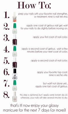 routinebeauty: DIY Gel Manicure