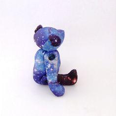 50OFF Galaxy print Teddy Bear Nebula Stuffed by moonroomkids