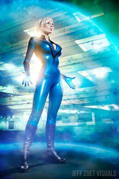 Invisible Woman, Susan Storm Richards, Fantastic Four, by Marie-Claude.