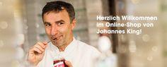Herzliche Willkommen im Online-Shop von Johannes King!
