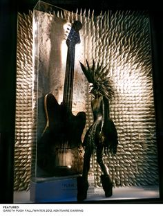 Window Display: Chaos to Couture, the Met's spring 2013 Costume Institute exhibition examines punk's impact on high fashion, including looks carried at Bergdorf Goodman. #Punk #Design