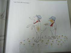 Oi! Get off from our train by John Burningham