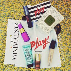 Everything in my June @sephora Play! box. At least for now everyone receives the same exact thing. This month included:  @beccacosmetics Backlight Priming Filter  @benefitcosmetics They're Real! Mascara (an oldy but good while I really like this mascara I wish they would have sent either one of the colored ones or better yet the Roller Last mascara)  @tartecosmetics TarteGuard 30 Sunscreen (I am happy to say this is a physical sunscreen meaning it contains titanium dioxide and zinc oxide)…