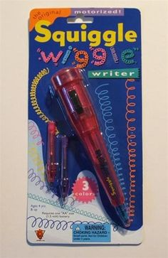 I remember when we sold these vibrating pens in at Boscov's...lol