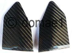 carbon fiber heel guards plates rider front Ducati 749 999 | eBay