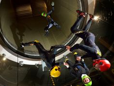 Hurricane Factory Tatralandia is cheapest vertical wind tunnel or Indoor skydiving arena in Europe. Indoor Skydiving, Indoor Activities, Sports, Men, Hs Sports, Guys, Sport
