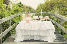 Beautiful birthday dessert table #desserttable #pink