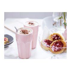 POKAL Mug, pink - IKEA