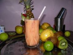 Coquetel de frutas sem álcool - Tudo Gostoso