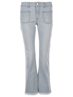 STELLA MCCARTNEY Stella Mccartney Flared Jeans. #stellamccartney #cloth #jeans