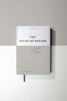 the value of design - great looking book