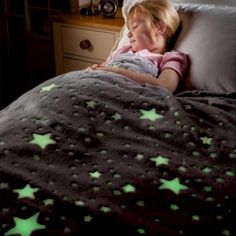 With super soft plush and glow in the dark stars, this cuddly glow in the dark blanket makes bedtime magical! Buy glow in the dark blankets at The Glow Company The Glow Company, Dark Words, Glow Stars, Star Blanket, Dark Star, Bedroom Lighting, Bedtime, Kids Bedroom, Cosy