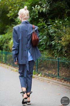 Paris SS 2017 Street Style: Olga Karput