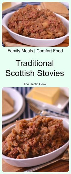 Traditional Scottish Stovies - The ultimate comfort food, Scottish Stovies are loved by a nation for good reason. So simple to make and really delicious. Scottish Dishes, Scottish Recipes, Irish Recipes, English Recipes, Scottish Burns Night Recipes, Scottish Decor, Greek Recipes, Uk Recipes, Cooking Recipes