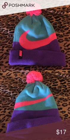 3fd559a196b 80s styled  Nike  beanie Only worn a couple times