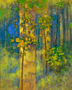 A new work from Rick Stevens, available at Hunter Kirkland Gallery on Canyon Road in Santa Fe, NM