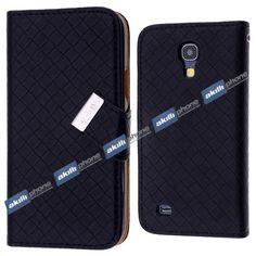 Galaxy S4 Mini GT İ9190 Örgü Desenli Cüzdan Kılıf